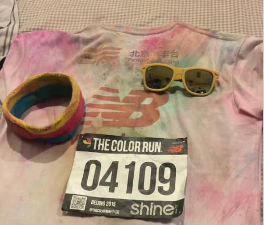 跑友分享|要到没有颜色才能停—记端午彩色跑