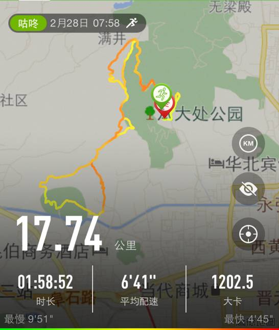 跑友分享|八大处20公里祁福越野跑纪实(下)